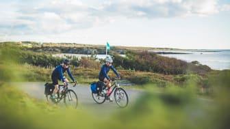 Kattegattleden mellan Helsingborg och Göteborg följer hela Hallandskusten