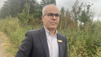 Mohamad Mehanna lämnade som ung hemlandet Libanon för Sverige. Sedan i våras är han kriminalvårdschef i Mariestad och vägen dit gick bland annat via studier på Högskolan i Skövde.