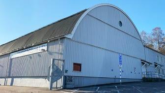 Tingbergshallen blir lokal för storskalig vaccinering när det är dags för allmänheten att få sitt skydd mot covid-19.