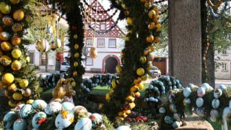 Påskebrønn i Hollfeld, Tyskland