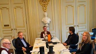 Akademiens sessionsrummet i Börshuset