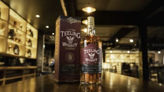 Teeling Sommelier Selection 3 Amarone Wine Cask, högklassig irländsk whiskey med italiensk elegans.