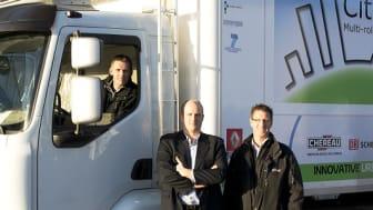 Polarbröd först i Sverige med att testa eldriven distributionsbil