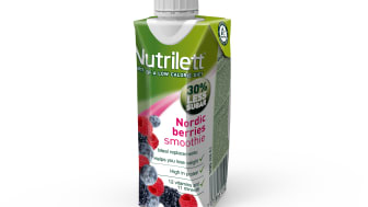 Nutrilett Nordic Berries Less sugar smoothie