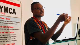 Gildas Tona, projektledare för Youth Justice i Togo, kommer att tala om utmaningar och möjligheter med att stärka ungas rättigheter i Togo.