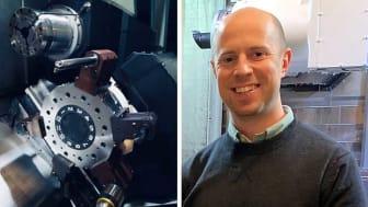 Daniel Nyström, platschef CNC Quality, tycker att konsulterna från Produktionslyftet snabbt satte sig in företagets verksamhet.