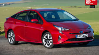 The Toyota Prius - Thatcham Research sponsored What Car? Safety Award Winner 2017