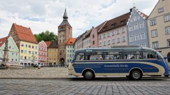 Langsberg am Lech: Nostalgisk buss, romantisk rute © Romantische Straße Touristik-Arbeitsgemeinschaft GbR