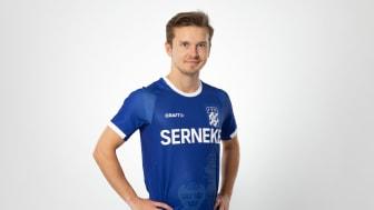 Den unika IFK-blåa försäsongströjan.