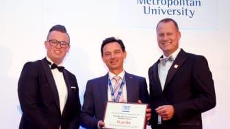 Scandic Business School wins EuroCHRIE prize