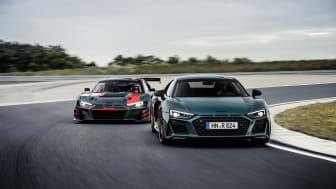 Audi R8 green hell – en hyldest til den succesrige R8 LMS
