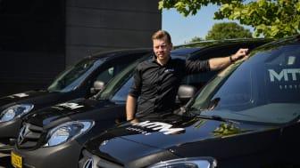 Næstved-virksomhed trodser coronakrise og bestiller fem nye Mercedes Citan