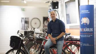 Martin Silberg, Eftermarknadsansvarig, Cycleurope.