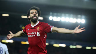 Liverpools Mohammed Salah