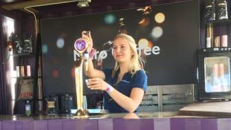 Intresset att hyra en egen barista växer. Nu satsar Löfbergs på ett mobilt baristateam som rycker ut och fixar ett skönt kaffehäng..