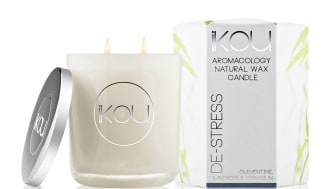 iKOU Wax Candle stort De-stress