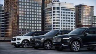 Volvo Cars' SUV-modeller