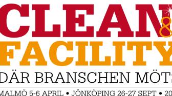 Mässan Clean & Facility är tillbaka i Malmö och Malmömässan den 5-6 april