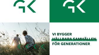 GK sätter hållbarhet i centrum med en ny grafisk profil