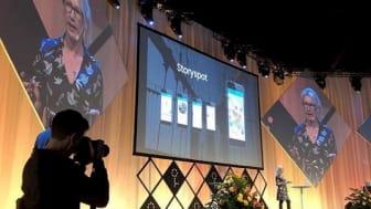 Storyspot vinnare av Future Marketing Tech Award