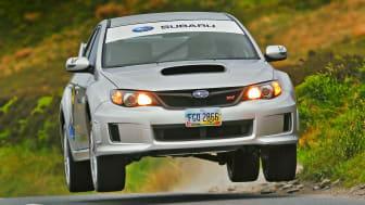 Subaru STI krossar 21 år gammalt varvrekord