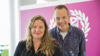Anna Rosling Rönnlund och Ola Rosling