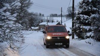 British drivers unprepared for winter weather breakdowns