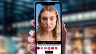 Augmented Reality Erlebnisse beim virtuellen Testen von Produkten auf dm.de