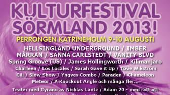 Premiär för Kulturfestival Sörmland
