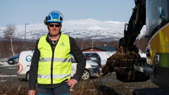 Björn Halling, ägare och projektledare för BRF Gondolgränd 5