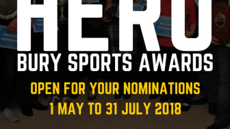 Nominate your favourite Bury sporting heroes