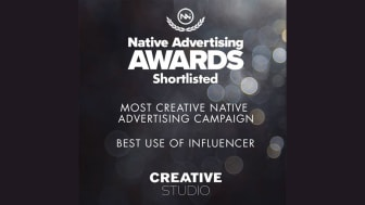 "The series ""Kids cooking"" won gold in the international competition Native advertising awards."