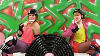 Roller Derby tävlingen S.W.E.E.T intar Arenan