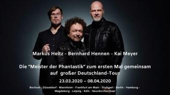 Die Meister der Phantastik erstmals zusammen auf großer Deutschland-Tour