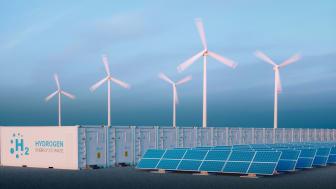 Aus überschüssiger Windenergie erzeugter Wasserstoff dient in Hamburg künftig zur CO2-neutralen Wärmeversorgung. (Bild: AdobeStock/malp)