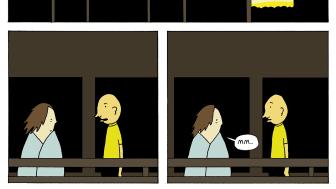 """Ur Pelle Forsheds serieroman """"Under tiden""""."""