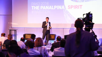 Berlin: CEO Stefan Karlen hosted his second global Panalpina leadership conference. (Photo by Panalpina)