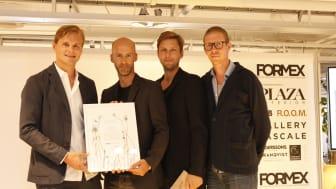 Mattias Stenberg tog i dag emot Novapriset till bästa unga nordiska designer