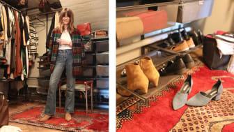 Elfa_En smart opbevaring i den nye farve Graphite hjemme hos Cecilia Blankens.