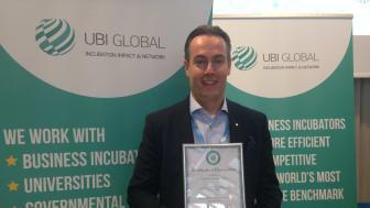 UIC rankad som Europas 5:e bästa företagsinkubator