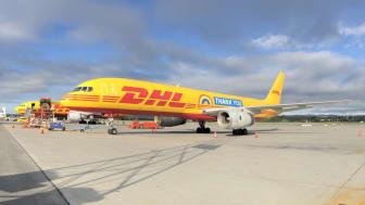 Tirsdag morgen landet en helt spesiell Boeing 757 på Oslo Lufthavn Gardermoen.
