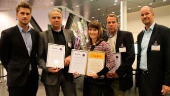 Medtechföretaget BioResonator vann pris för bästa internationaliseringsplan
