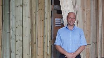 Johan Bergstrøm er udnævnt til ny direktør for Bygma Viby Sjælland