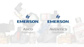 Vi hjälper dig att hitta rätt produkter och lösningar från Emerson Asco och Emerson Aventics.