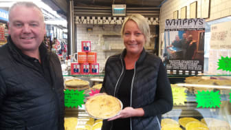 Grab a Paddy Pie on Bury Market – and help local charities
