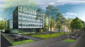 Jungheinrich bygger nytt huvudkontor i Hamburg