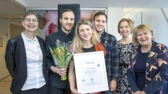 Anna Borgeryds minnesfond första stipendium går till Harvest.