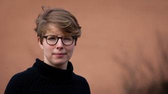 Maria Persdotter har studerat rivningen av det uppmärksammade Sorgenfri-lägret i Malmö 2015. Foto: Olof Holmgren