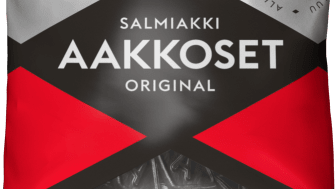 Aakkoset  Original Salmiakki 180g