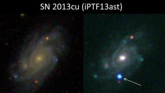 Superstjärnor i blixtbelysning - Ny metod visar stjärnors dödskamp